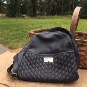 Karl Lagerfeld Paris Agyness Black Backpack